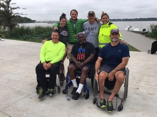 Adaptive Veterans win gold