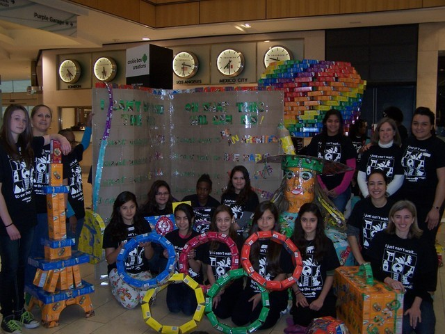 east dallas lakewood girl scouts win cookie box creations