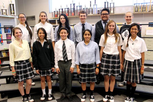 Bishop Lynch Choir Members Selected To All Region Choirs Bishop