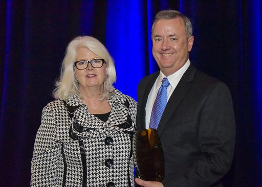 2015 Distinguished Champion Honorees Karen Falk, T
